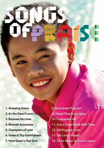 Songs of Praise Sam Santiago DVD Back Cover